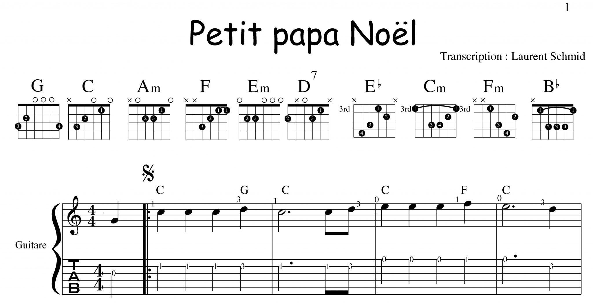 Petit Papa Noel Contraste Musicole