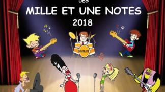 Bravo les Artistes ! Spectacles Les Mille et Une Notes 2018