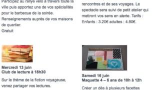 Activités Maison de quartier A.Renoir Juin 2018