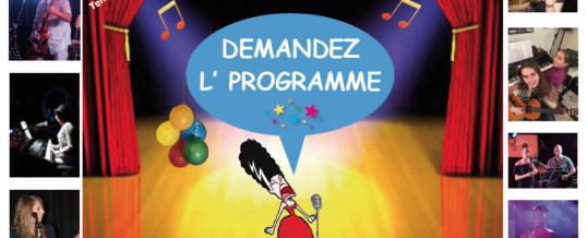 PROGRAMME Soirée Music'Ole samedi 09 Février 2019