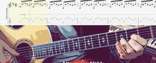 Covid Pédago Guitare Allegretto N°23 Carulli